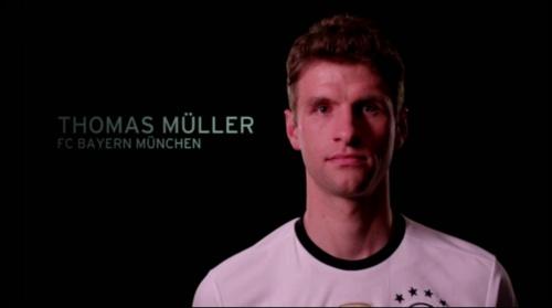 Thomas Müller - EM 2016 Kader