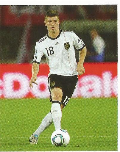 Toni Kroos – die Nationalmannschaft 2012 sticker
