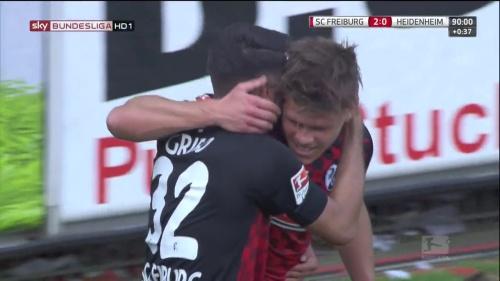 Vincenzo Grifo & Florian Niederlechner – SC Freiburg v Heidenheim 1