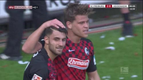 Vincenzo Grifo & Florian Niederlechner – SC Freiburg v Heidenheim 3