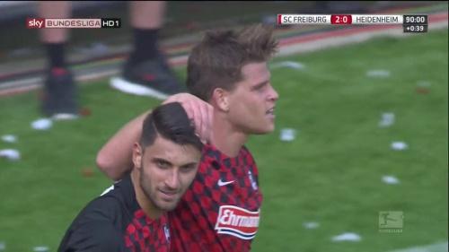 Vincenzo Grifo & Florian Niederlechner – SC Freiburg v Heidenheim 4
