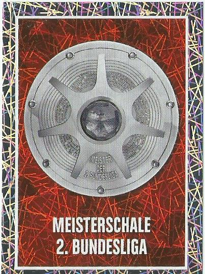 2.Bundesliga Meisterschale – Bundesliga 2015-16 sticker