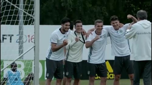Can, Özil, Podolski & Gomez