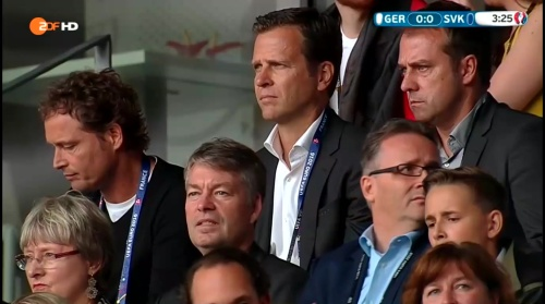 Hansi Flick at Deutschland v Slowakei (EM 2016) 1