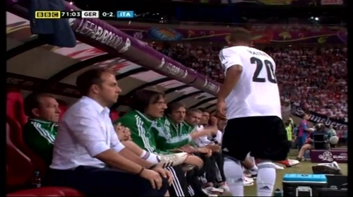 Hansi Flick – Germany v Italy (2012) 2