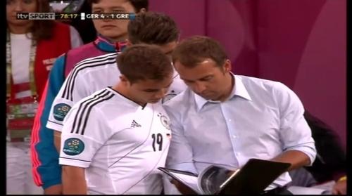 Hansi Flick - Germany v Greece 1