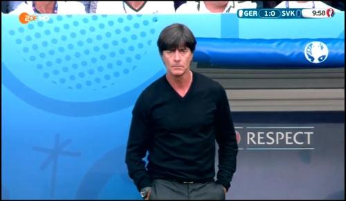 Joachim Löw - Deutschland v Slowakei 1st half (EM 2016) 14