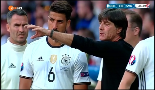 Joachim Löw - Deutschland v Slowakei 1st half (EM 2016) 19