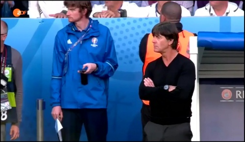 Joachim Löw - Deutschland v Slowakei 1st half (EM 2016) 23