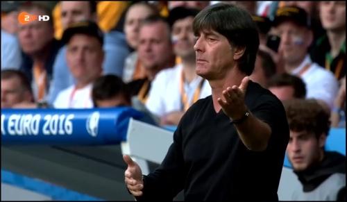 Joachim Löw - Deutschland v Slowakei 1st half (EM 2016) 24