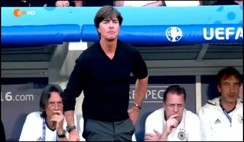 Joachim Löw - Deutschland v Slowakei 1st half (EM 2016) 26