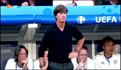 Joachim Löw - Deutschland v Slowakei 1st half (EM 2016) 27