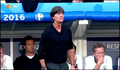 Joachim Löw - Deutschland v Slowakei 1st half (EM 2016) 28