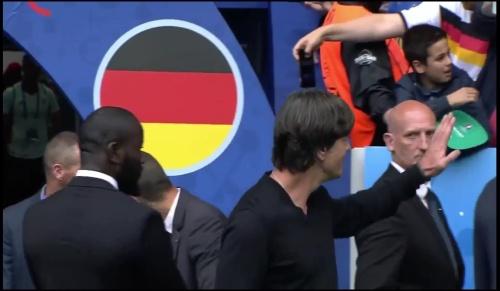 Joachim Löw - Deutschland v Slowakei 1st half (EM 2016) 3