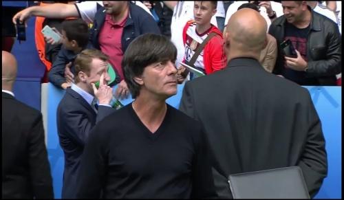 Joachim Löw - Deutschland v Slowakei 1st half (EM 2016) 5