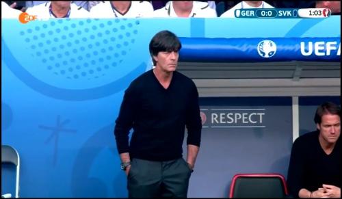 Joachim Löw - Deutschland v Slowakei 1st half (EM 2016) 8