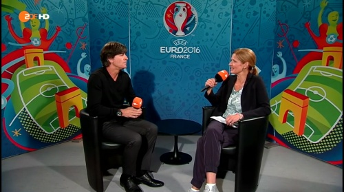 Joachim Löw - Deutschland v Slowakei post-match interview (EM 2016) 1