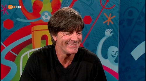 Joachim Löw - Deutschland v Slowakei post-match interview (EM 2016) 10