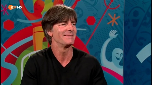 Joachim Löw - Deutschland v Slowakei post-match interview (EM 2016) 11