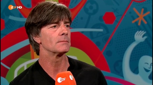 Joachim Löw - Deutschland v Slowakei post-match interview (EM 2016) 4