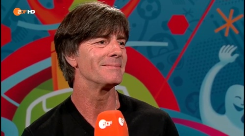 Joachim Löw - Deutschland v Slowakei post-match interview (EM 2016) 5