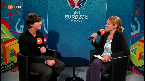 Joachim Löw - Deutschland v Slowakei post-match interview (EM 2016) 6