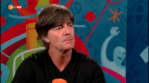 Joachim Löw - Deutschland v Slowakei post-match interview (EM 2016) 7