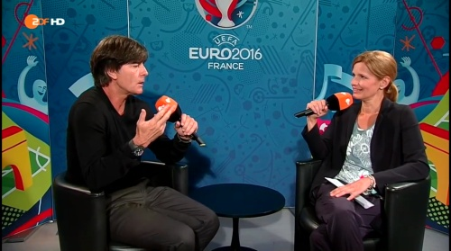 Joachim Löw - Deutschland v Slowakei post-match interview (EM 2016) 8