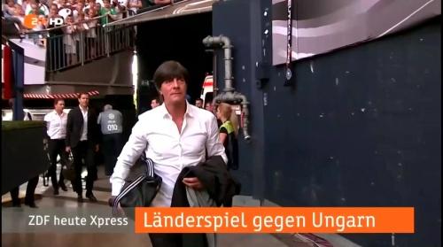 Joachim Löw – 1st half – Deutschland v Ungarn 1