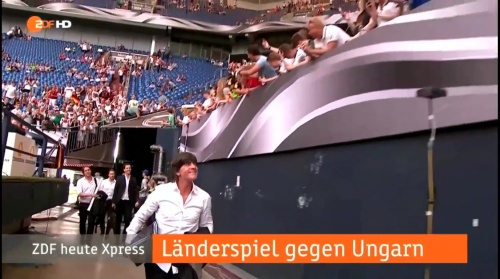 Joachim Löw – 1st half – Deutschland v Ungarn 3