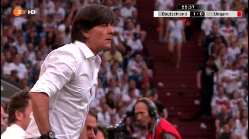 Joachim Löw – 2nd half – Deutschland v Ungarn 1