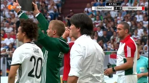 Joachim Löw – 2nd half – Deutschland v Ungarn 10