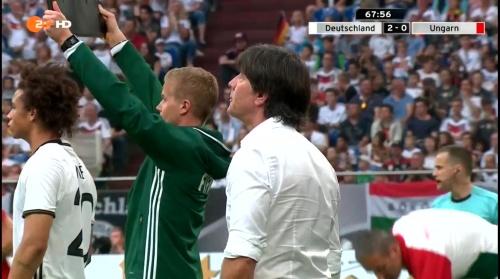 Joachim Löw – 2nd half – Deutschland v Ungarn 11