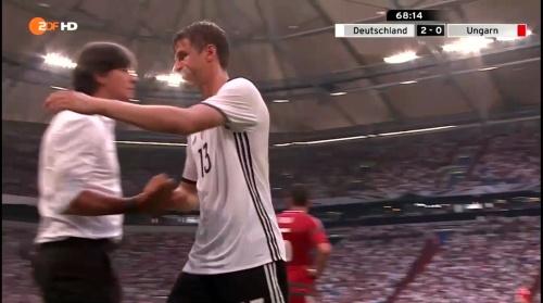 Joachim Löw – 2nd half – Deutschland v Ungarn 12