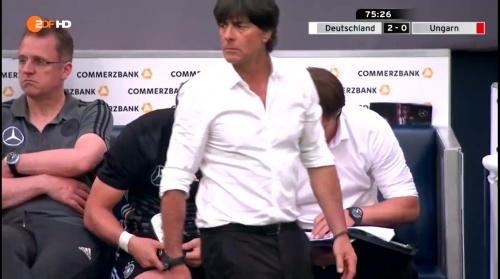 Joachim Löw – 2nd half – Deutschland v Ungarn 13