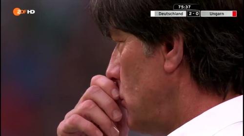 Joachim Löw – 2nd half – Deutschland v Ungarn 14