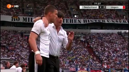 Joachim Löw – 2nd half – Deutschland v Ungarn 15