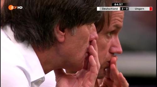 Joachim Löw – 2nd half – Deutschland v Ungarn 17