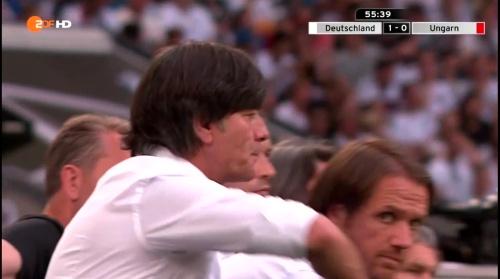 Joachim Löw – 2nd half – Deutschland v Ungarn 2