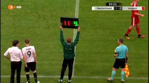 Joachim Löw – 2nd half – Deutschland v Ungarn 3