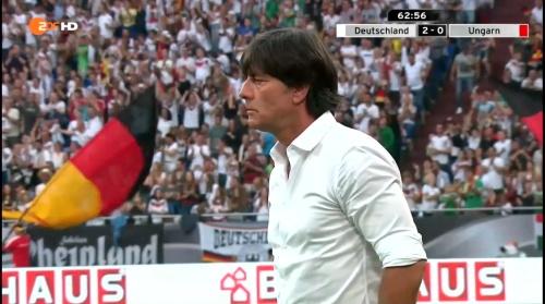 Joachim Löw – 2nd half – Deutschland v Ungarn 4
