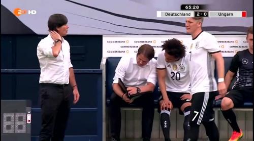 Joachim Löw – 2nd half – Deutschland v Ungarn 5