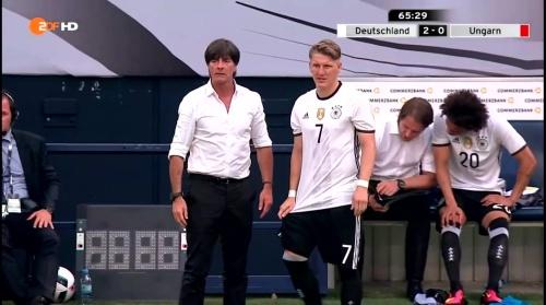 Joachim Löw – 2nd half – Deutschland v Ungarn 8