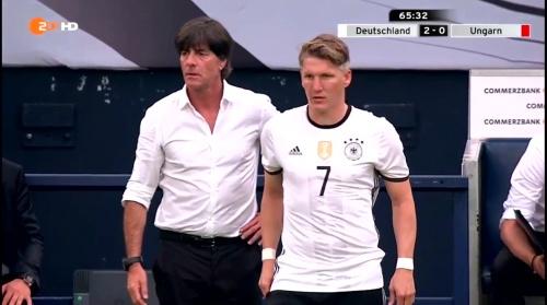Joachim Löw – 2nd half – Deutschland v Ungarn 9