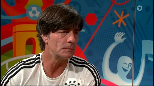 Joachim Löw – ARD interview 15-06-16 2