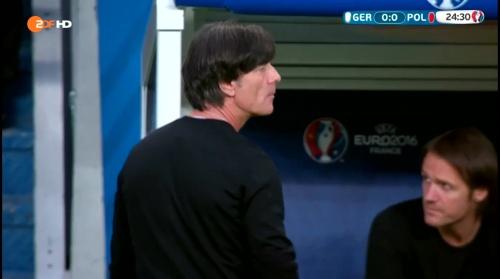 Joachim Löw – Deutschland v Polen 1st half (EM 2016) 12