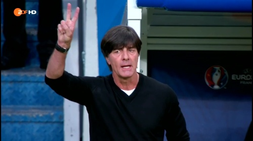 Joachim Löw – Deutschland v Polen 1st half (EM 2016) 19