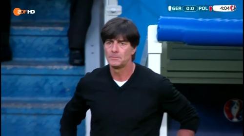 Joachim Löw – Deutschland v Polen 1st half (EM 2016) 7