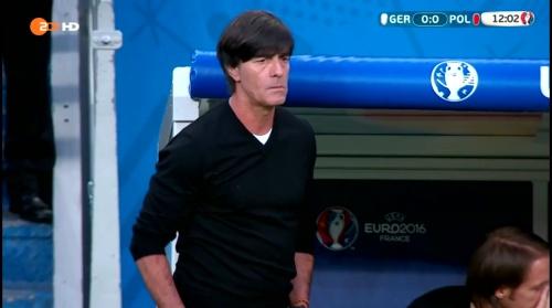 Joachim Löw – Deutschland v Polen 1st half (EM 2016) 8