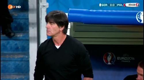 Joachim Löw – Deutschland v Polen 2nd half (EM 2016) 1